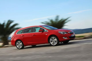 тест-драйв opel astra sports tourer